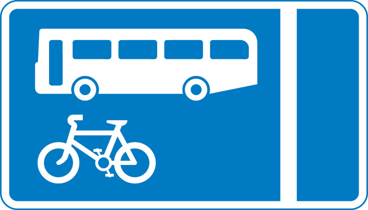 Bus Lanes sign