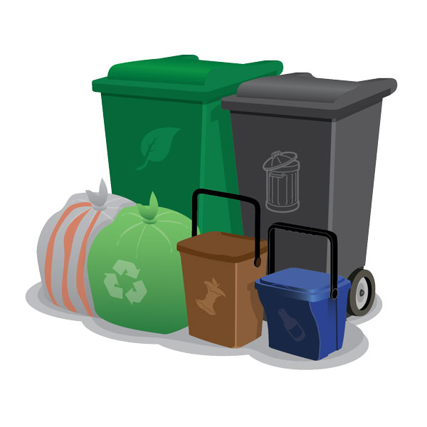 Image of kerbside bins